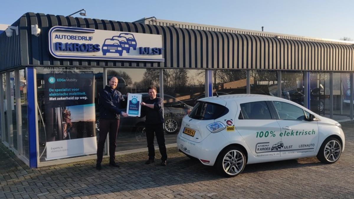 Elektrisch rijden met Kroes!